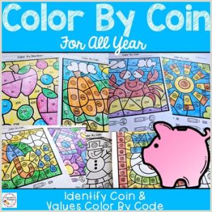 Color by Number Worksheets Unicorn
