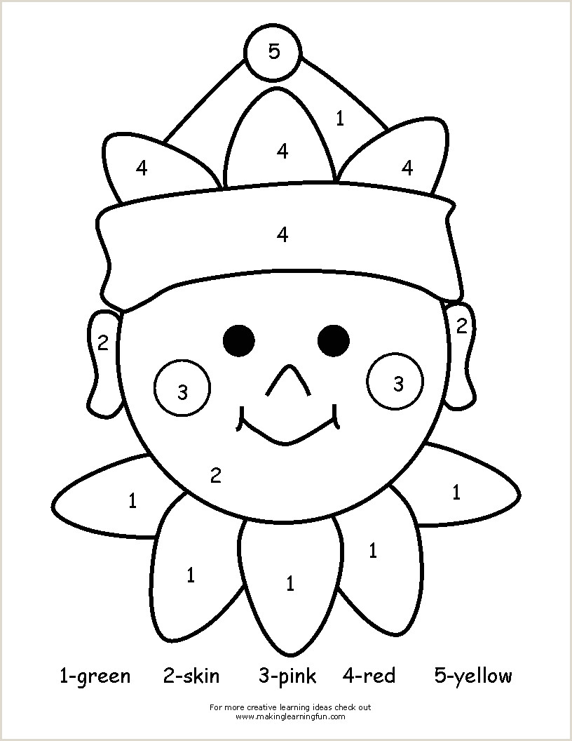 Color by the Number Worksheets