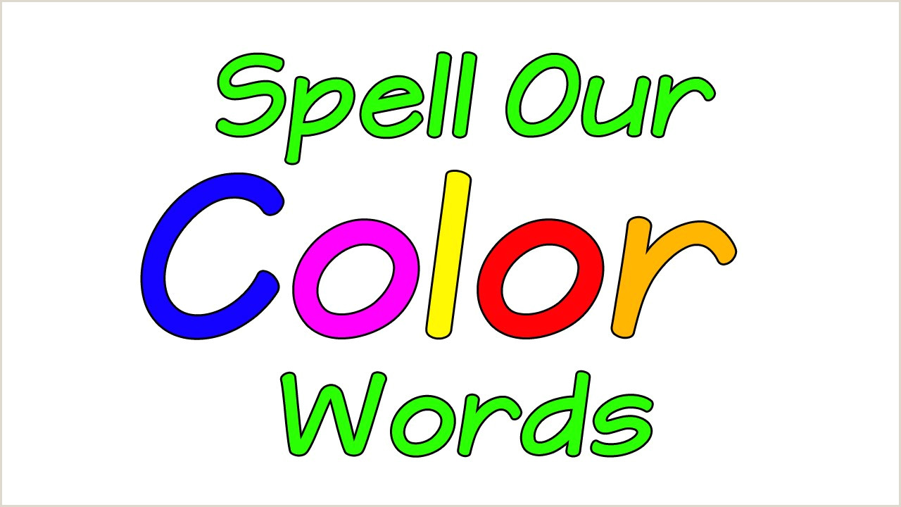 Colors And Numbers Worksheets For Kindergarten