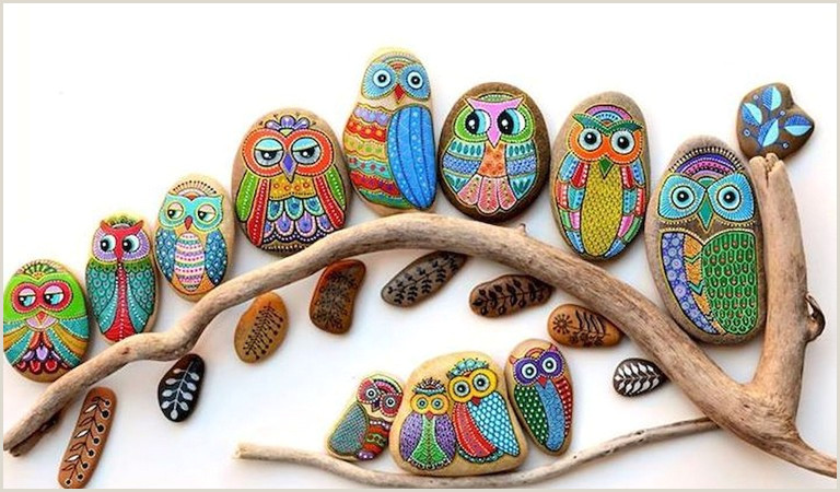 Cool Easy Things To Paint On Rocks