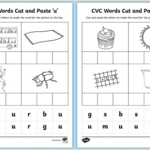 Cvc Reading Comprehension Worksheets for Kindergarten