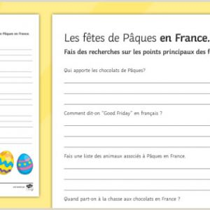 Easter Activity Worksheets Ks2