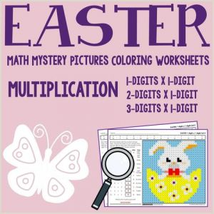 Easter Addition and Subtraction Worksheets