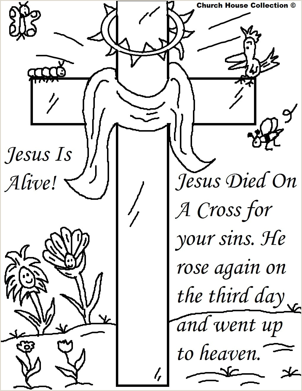 Easter Bible Activities Worksheets