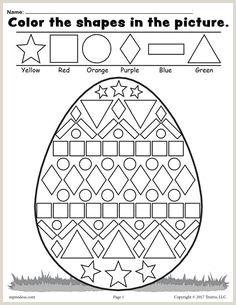 Easter Bunny Coordinates Worksheet
