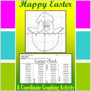Easter Bunny Coordinates Worksheet