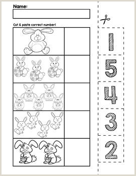 Easter Bunny Counting Worksheet