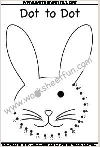 Easter Bunny Math Worksheets