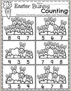 Easter Bunny Plot Worksheet