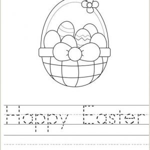 Easter Bunny Worksheet Pdf