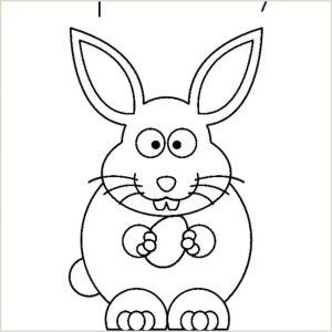 Easter Bunny Worksheets for Kindergarten