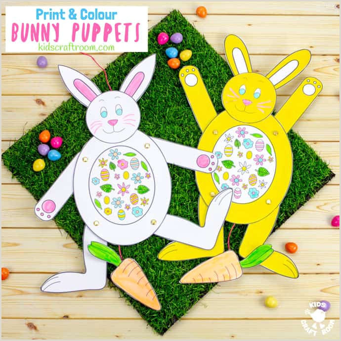 Easter Bunny Worksheets For Kindergarten