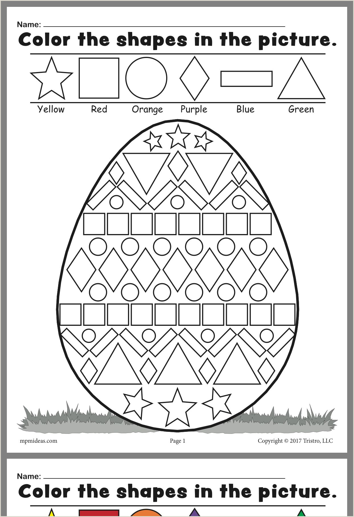 Easter Comprehension Worksheets Pdf