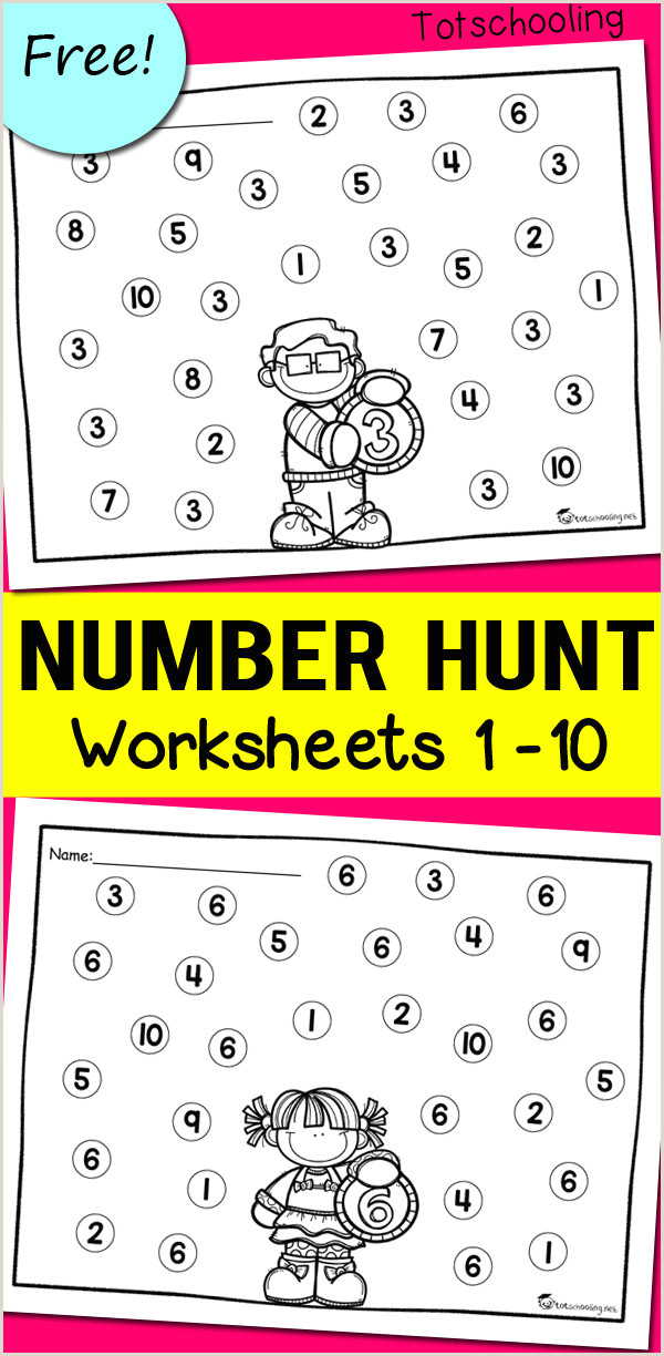 Easter Counting Worksheets For Preschoolers
