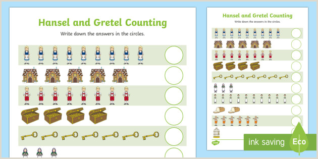 Easter Counting Worksheets
