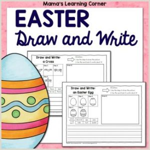Easter Creative Writing Worksheets