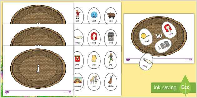 Easter Egg Hunt Worksheets
