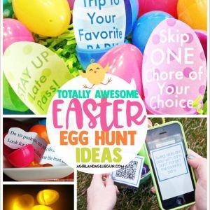 Easter Egg Hunt Worksheets