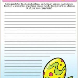 Easter Egg Worksheets