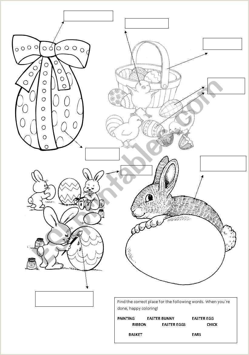 Easter English Worksheets Pdf