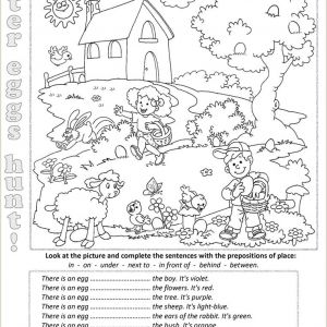 Easter English Worksheets Pdf