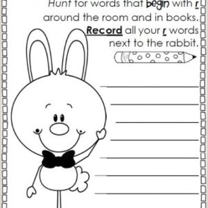 Easter Handwriting Worksheets