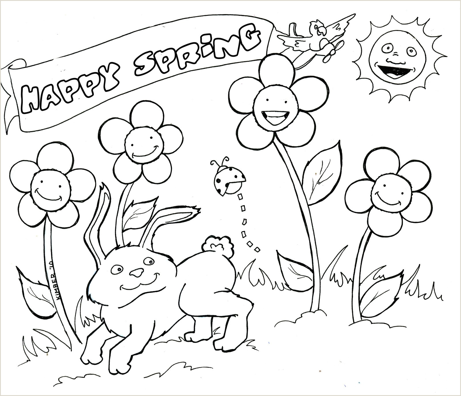 Easter Kinder Worksheets