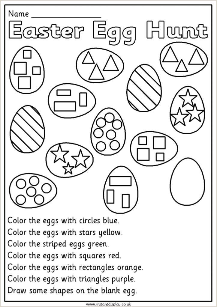 Easter Language Worksheets