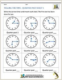 Easter Learning Worksheets