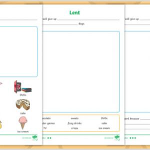 Easter Learning Worksheets