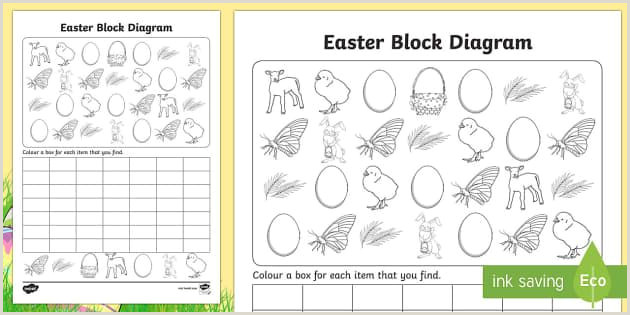 Easter Letter Worksheets