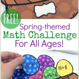 Easter Math Worksheets 2nd Grade