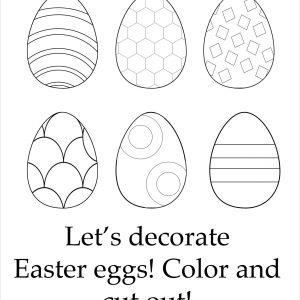 Easter Math Worksheets for High School