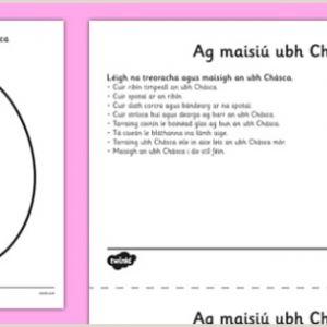 Easter Math Worksheets for Kindergarten