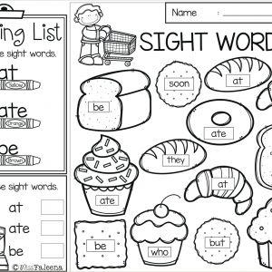Easter Math Worksheets Kindergarten