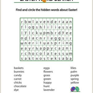 Easter Math Worksheets Printable