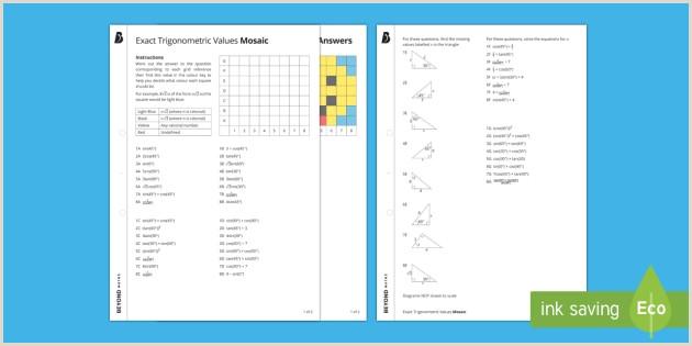 Easter Maths Worksheets Ks3