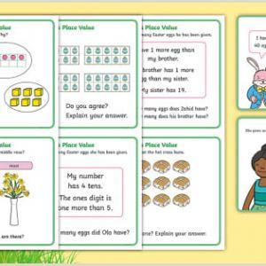 Easter Maths Worksheets