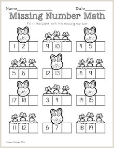 Easter Maths Worksheets Tes