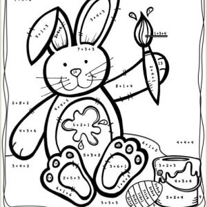 Easter Maths Worksheets Year 1