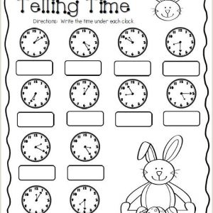 Easter Maths Worksheets Year 4