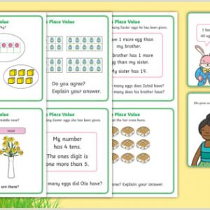 Easter Numeracy Worksheets