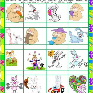 Easter Pre Writing Worksheets