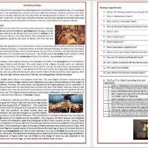 Easter Printable Worksheets Activities