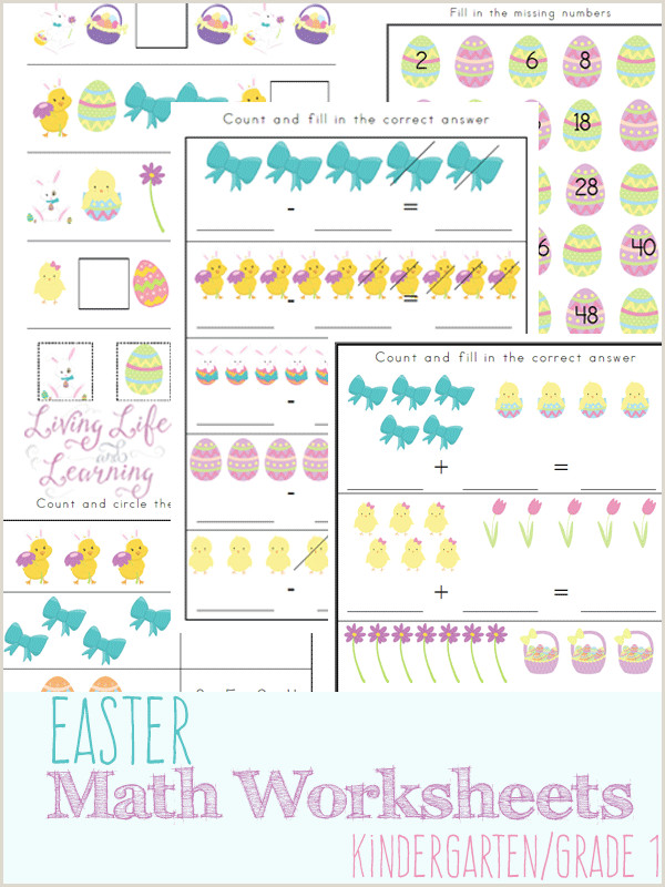 Easter Printable Worksheets Activities