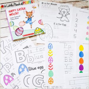 Easter Printable Worksheets for Kindergarten