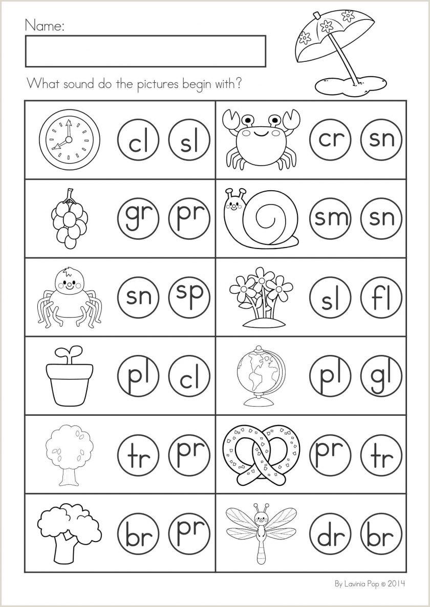 Easter Printable Worksheets For Kindergarten