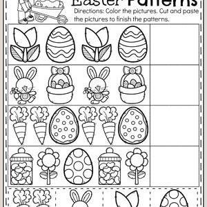 Easter Printable Worksheets Preschool
