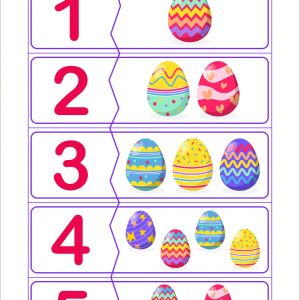 Easter Puzzles Printable Worksheets