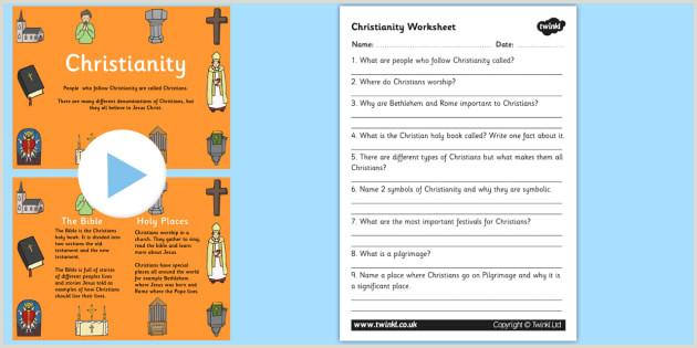 Easter Religious Worksheets Ks2